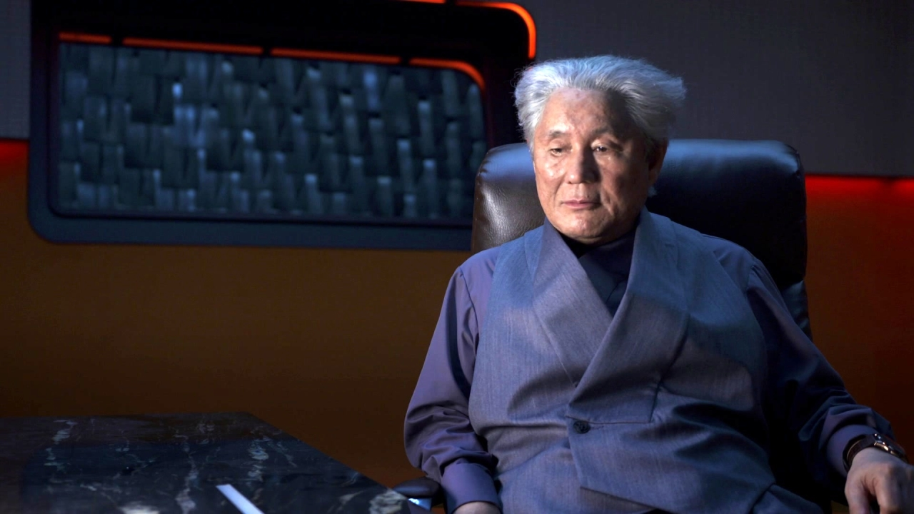 Ghost In The Shell: Takeshi Kitano Self Introduction And Character