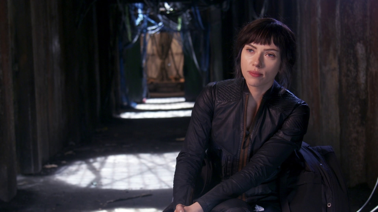 Ghost In The Shell: Scarlett Johansson On Who The Major Is