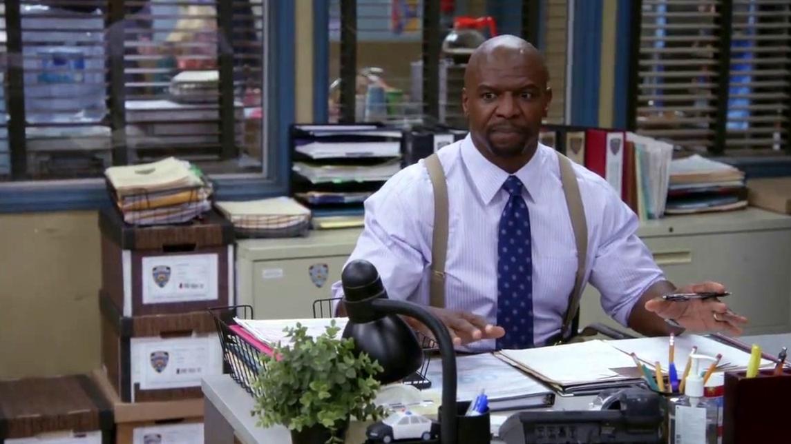 Brooklyn Nine-Nine: Terry Loves Lavender Yogurt