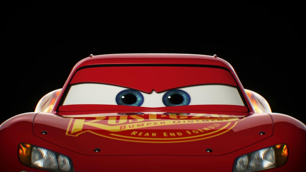 Cars 3: Character Reveal Lightning McQueen