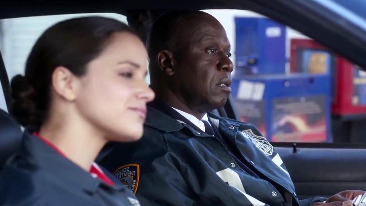 Brooklyn Nine-Nine: Captain Holt Brings Nutrition Bricks