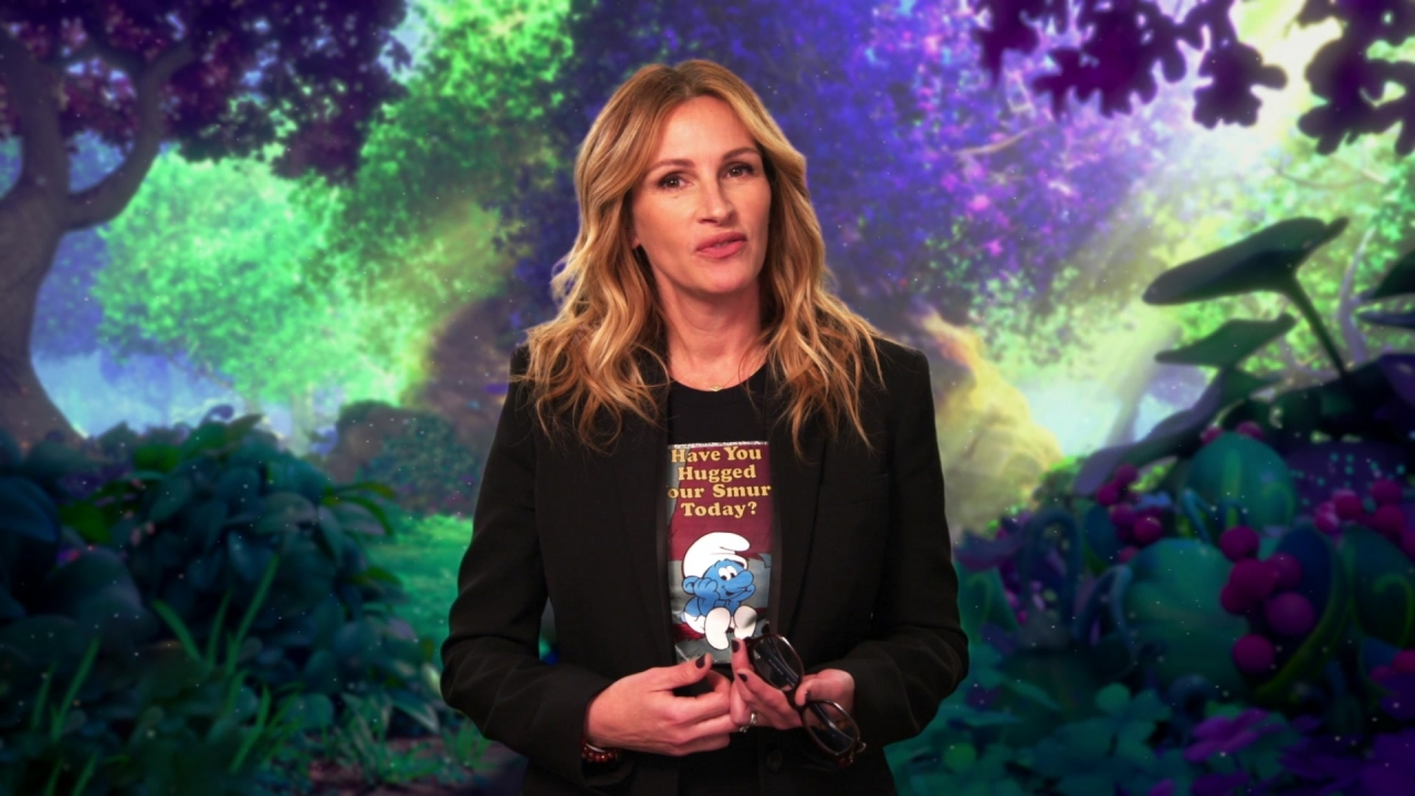 Smurfs: The Lost Village: Julia Roberts On Her Character