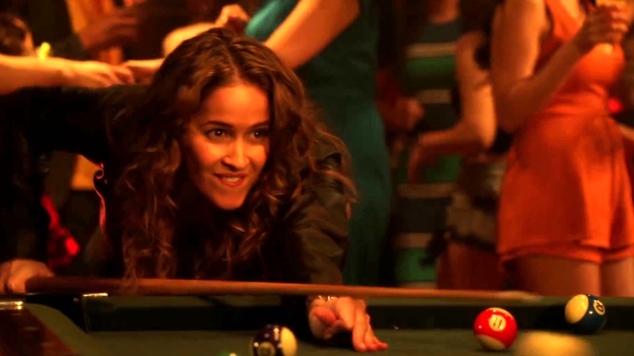 Rosewood: Villa Plays Pool With Her Brother