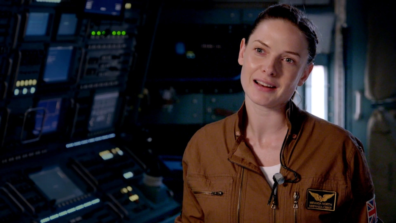 Life: Rebecca Ferguson What attracted you to this project (International)