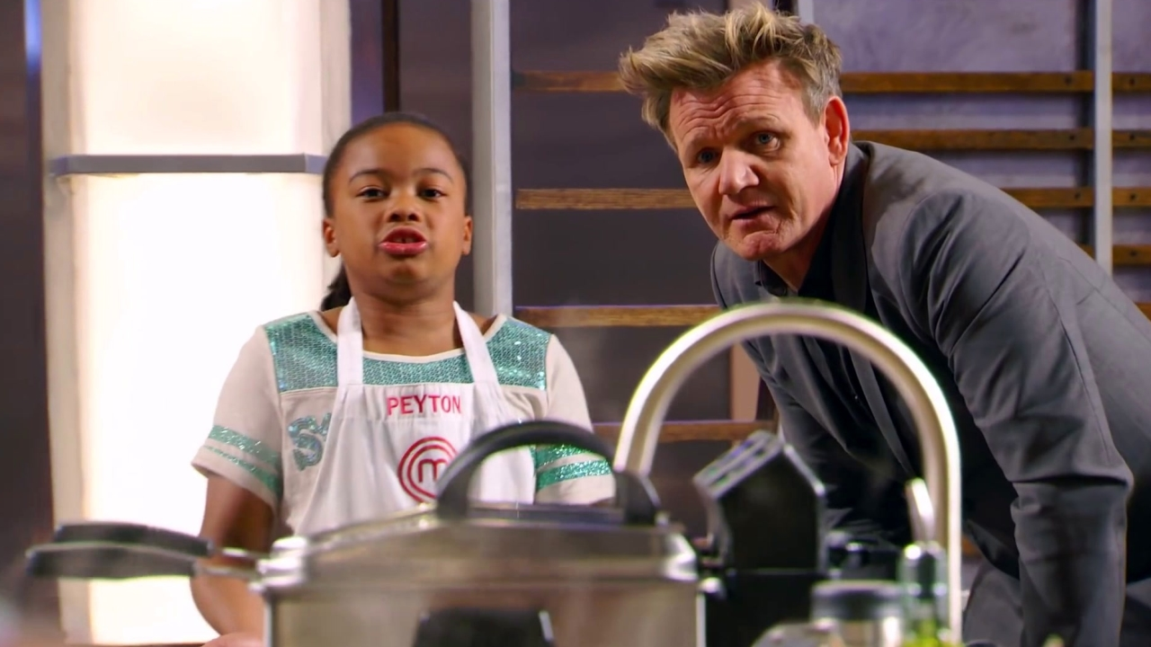 Masterchef Junior: Peyton And Afnan Have A Communication Meltdown