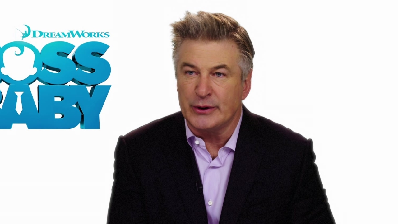 The Boss Baby: Alec Baldwin about having a Boss Baby (International)