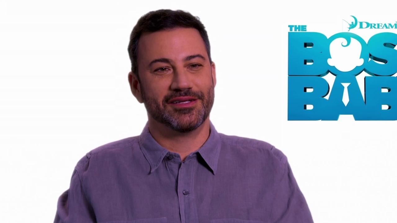 The Boss Baby: Jimmy Kimmel on having a Boss Baby (International)