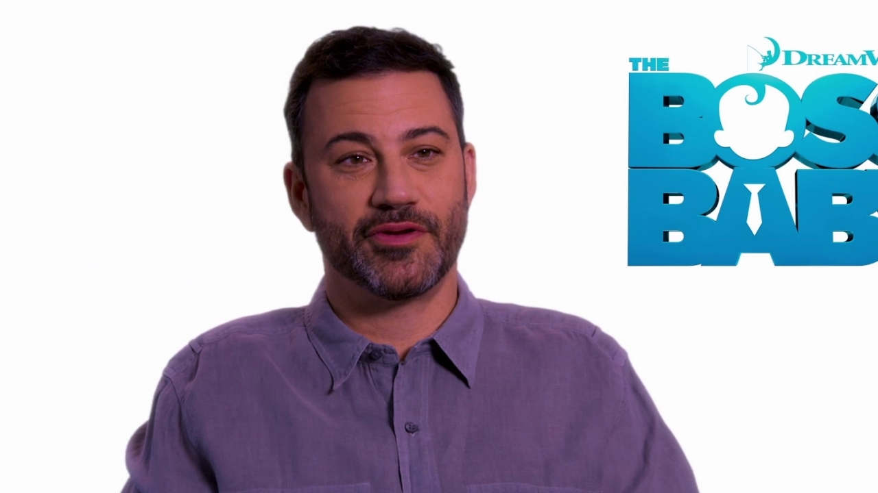 The Boss Baby: Jimmy Kimmel on working on an animation film (International)