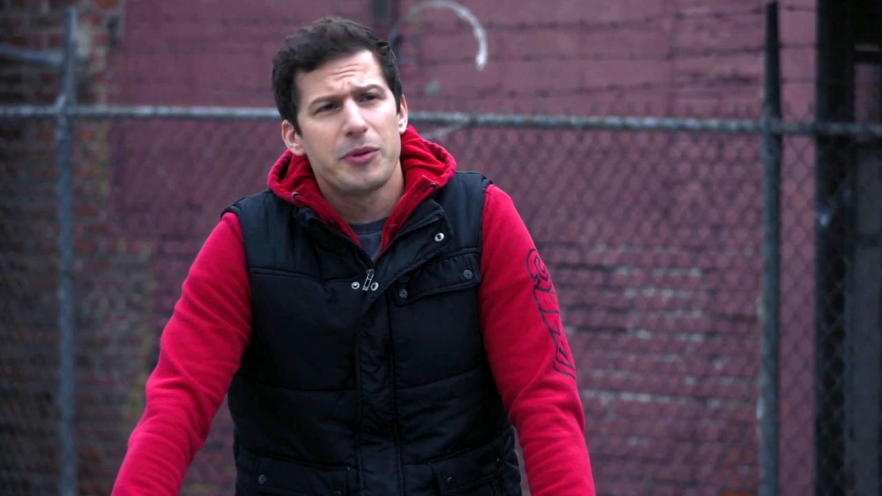Brooklyn Nine-Nine: Jake Tries To Join A Bike Group