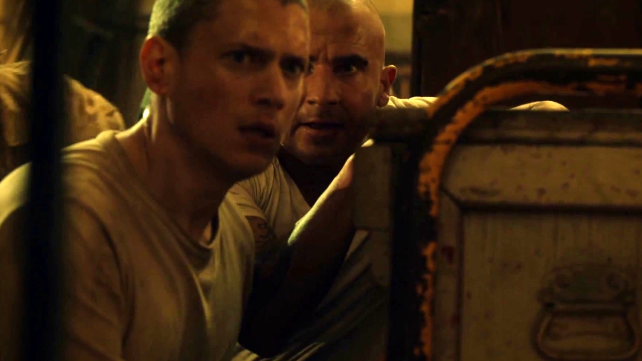 Prison Break: Michael Decides The Train Is Their Best Way Out