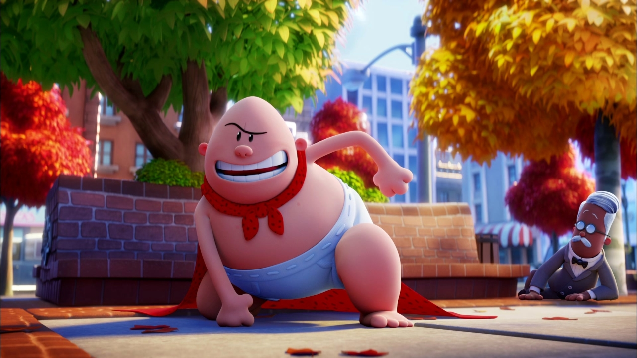 Captain Underpants: The First Epic Movie: Captain Underpants Helps People