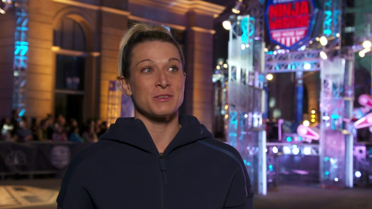 American Ninja Warrior: Celebrity Edition: Jessie Graff