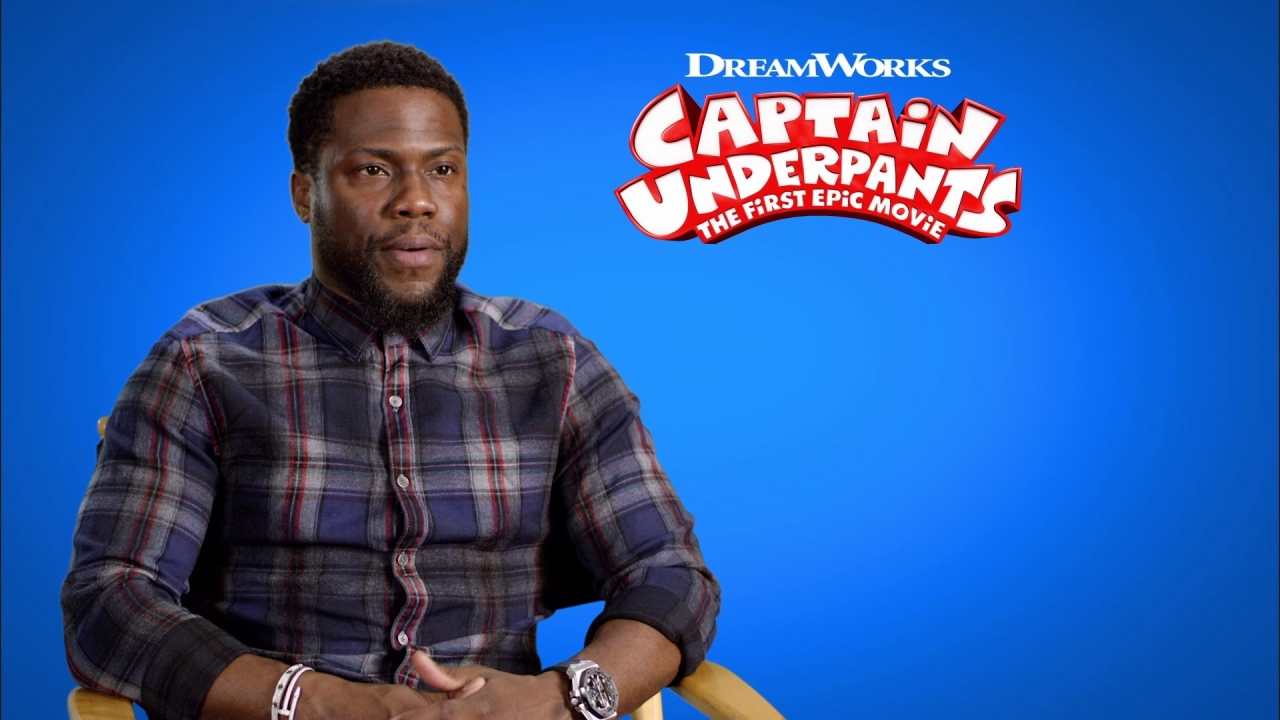Captain Underpants: The First Epic Movie: Kevin Hart On How He Joined The Movie