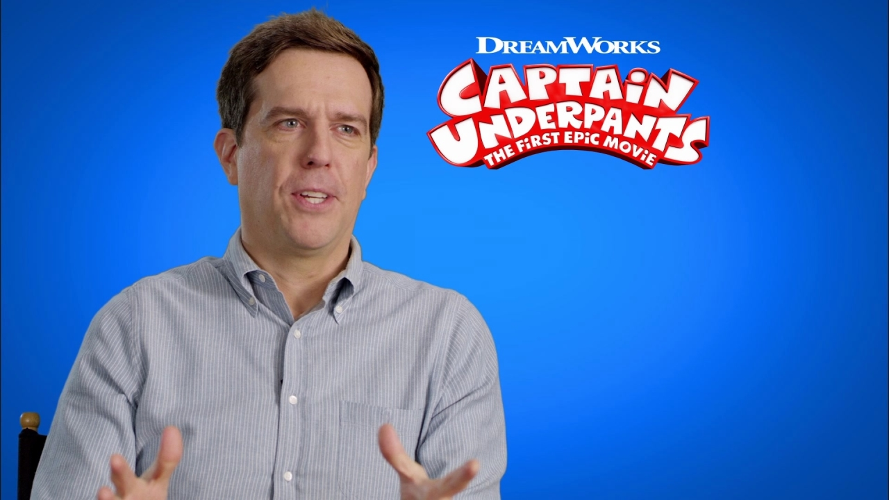 Captain Underpants: The First Epic Movie: Ed Helms On The Story