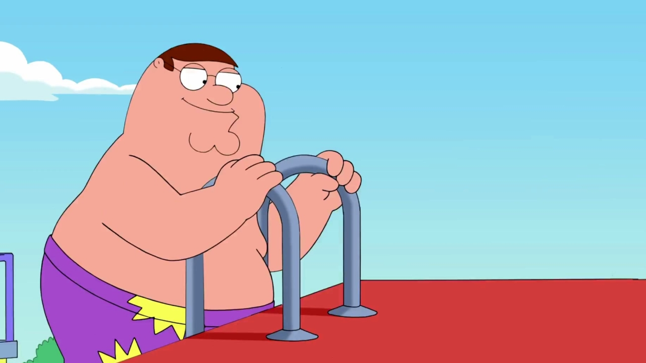 Family Guy: The Family Goes To A Water Park