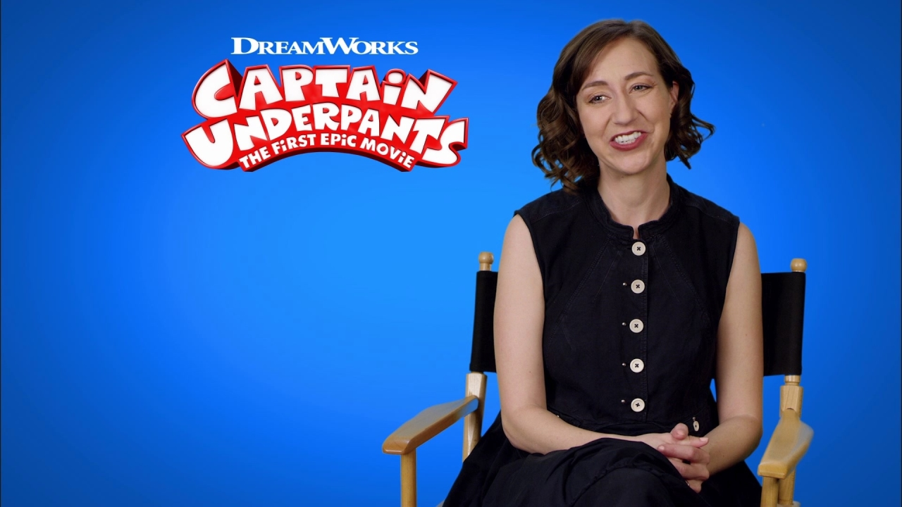 Captain Underpants: The First Epic Movie: Kristen Schaal On Edith