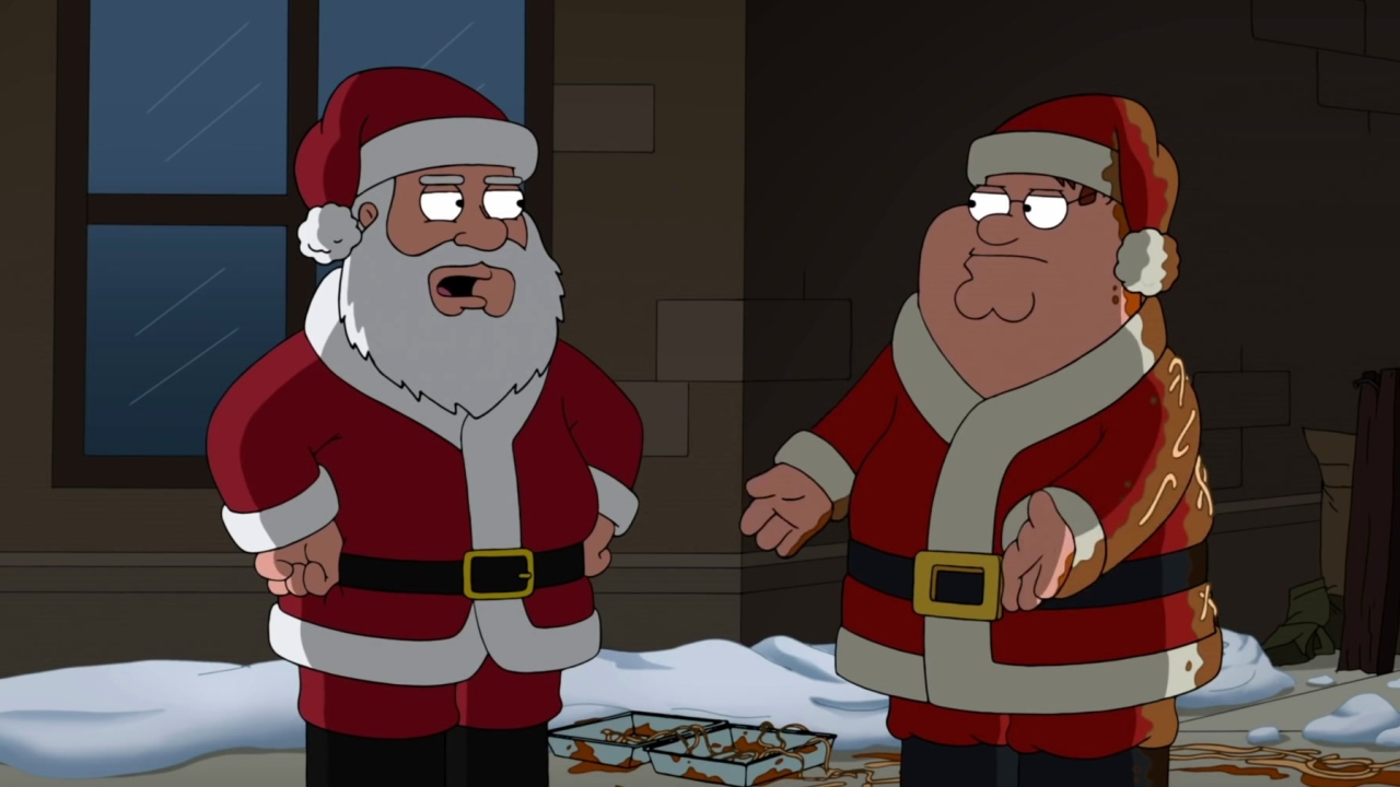 Family Guy: Santa Threatens Peter Griffin