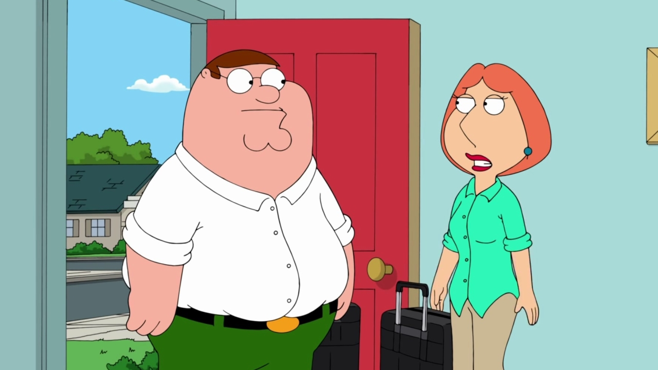 Family Guy: Peter Makes Lois Stay Home With The Kids