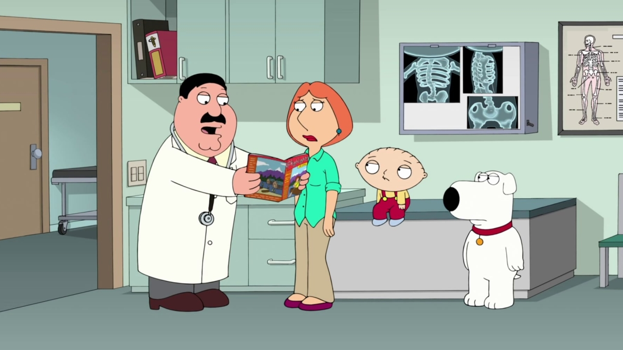 Family Guy: Stewie Is Diagnosed With Scoliosis