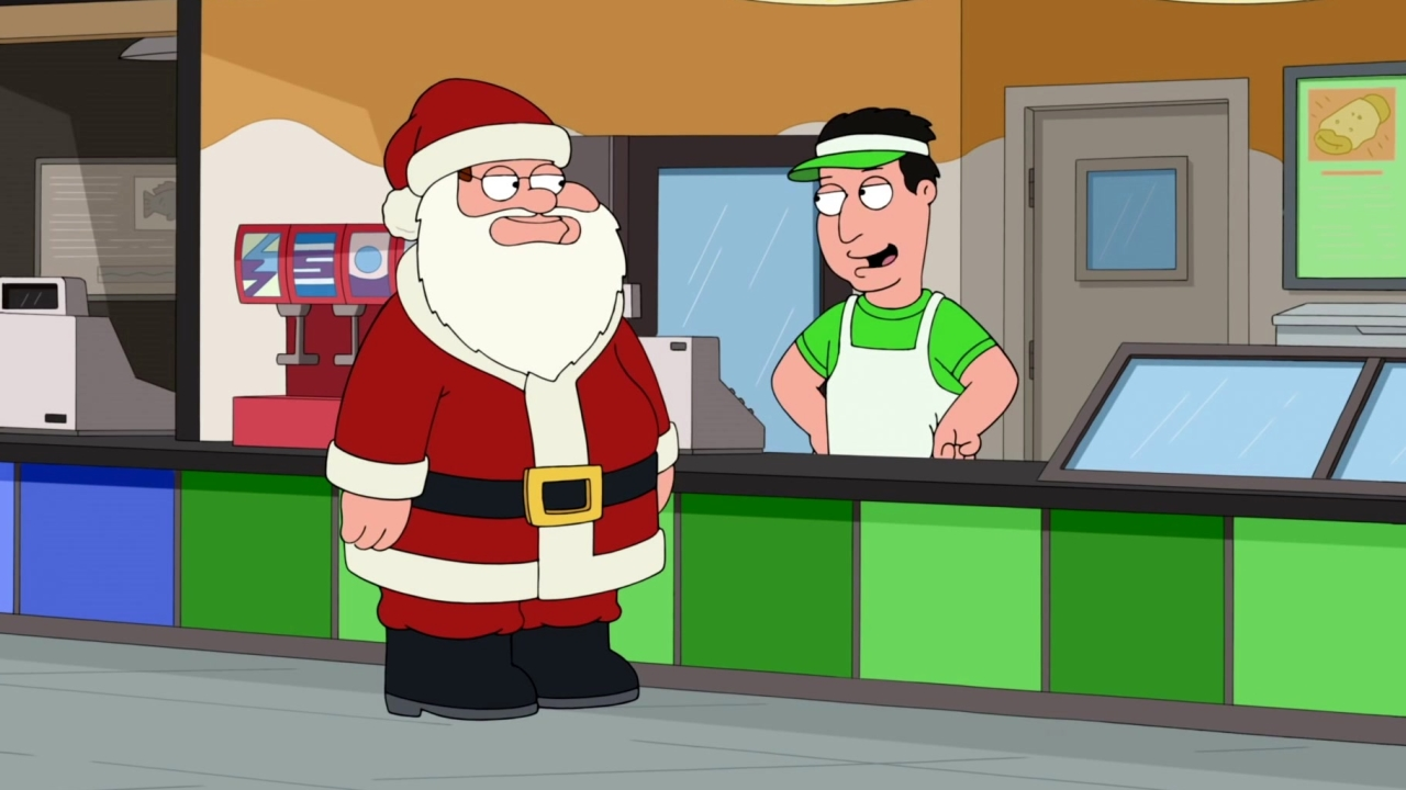 Family Guy: Peter Discovers The Perks Of Being Santa