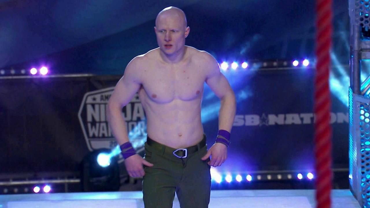 American Ninja Warrior: Kevin Bull Run