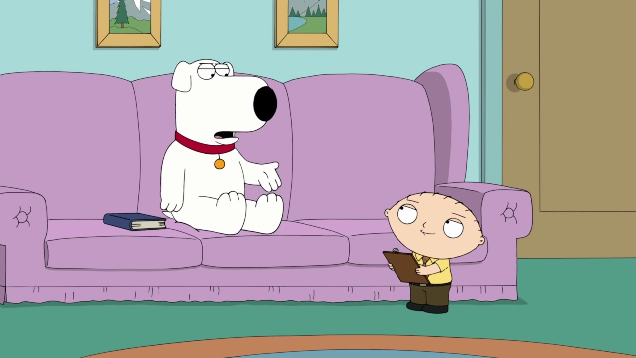 Family Guy: Stewie Makes A Hilarious Informational Video For Brian
