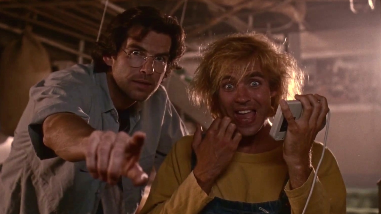 The Lawnmower Man: Dr. Angelo And Jobe