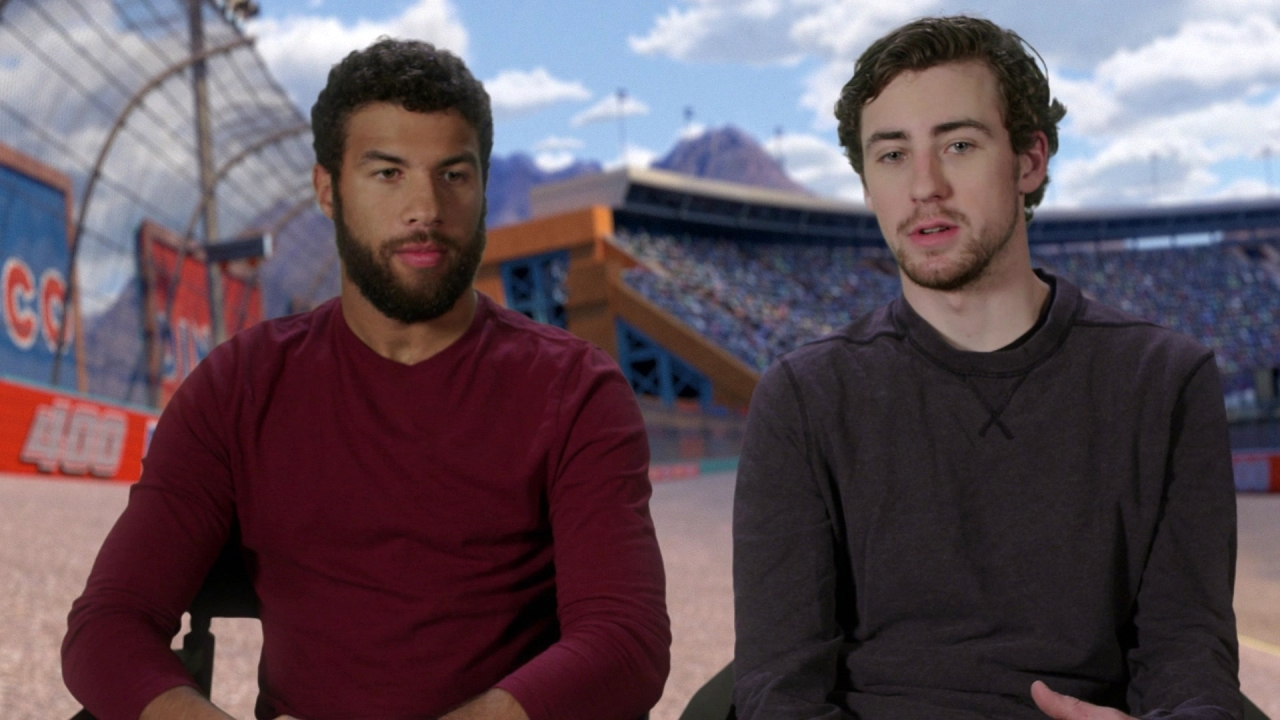 Cars 3: Bubba Wallace & Ryan Blaney On Why They're Excited To Be In The Film