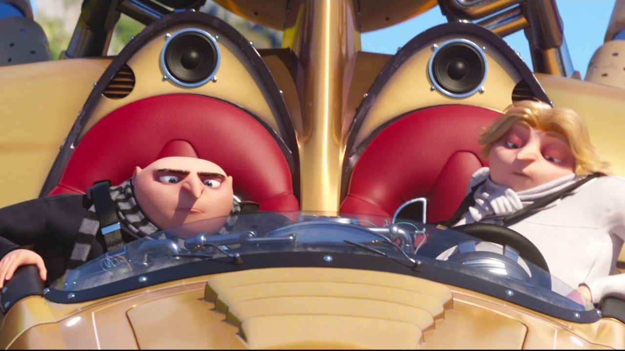 Despicable Me 3: Dru And Gru Take The Despicamobile Out For A Spin
