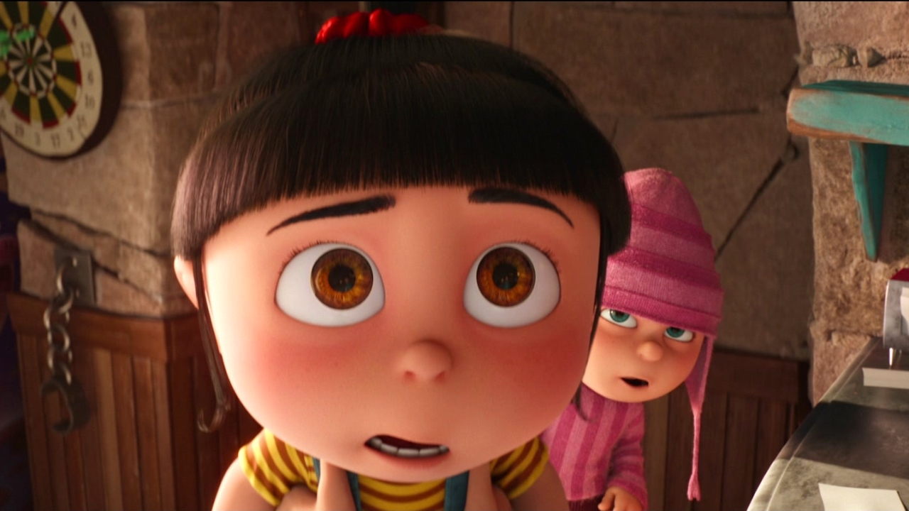 Despicable Me 3: Agnes Sees A Real Unicorn Horn