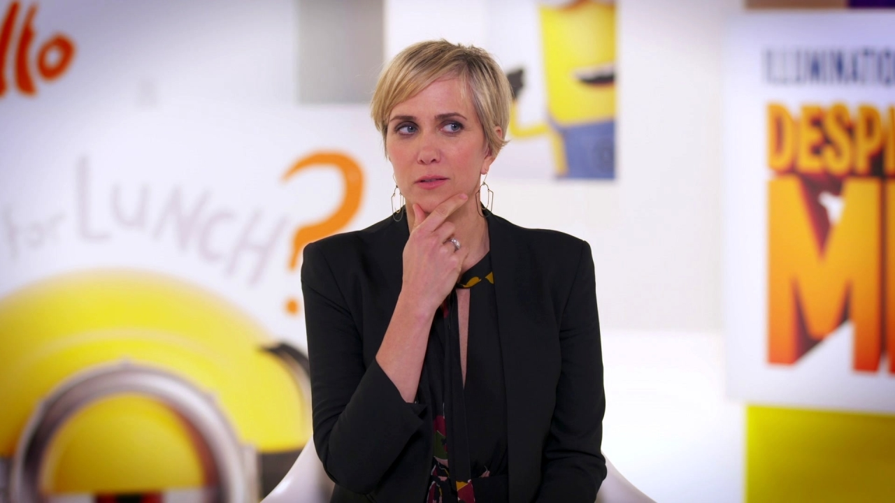 Despicable Me 3: Kristen Wiig On How 'Lucy' Has Changed Since The Last Film