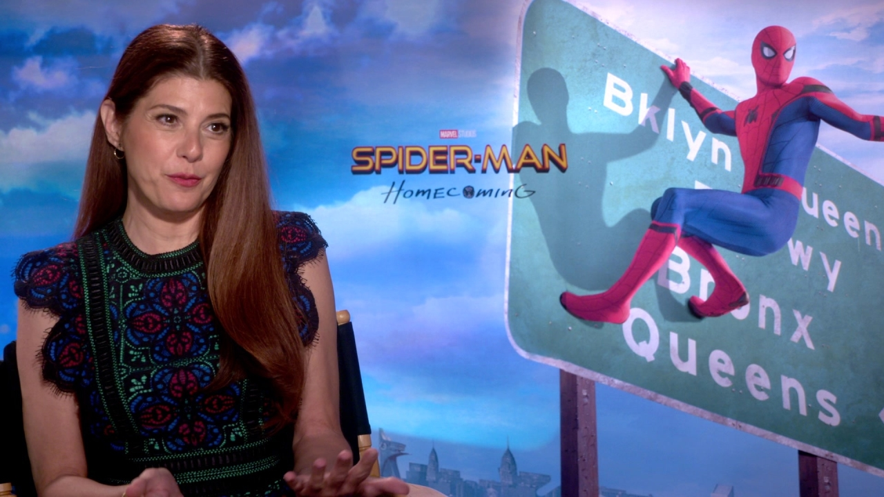 Spider-Man: Homecoming: Marisa Tomei On Joining The Spider-Man Franchise