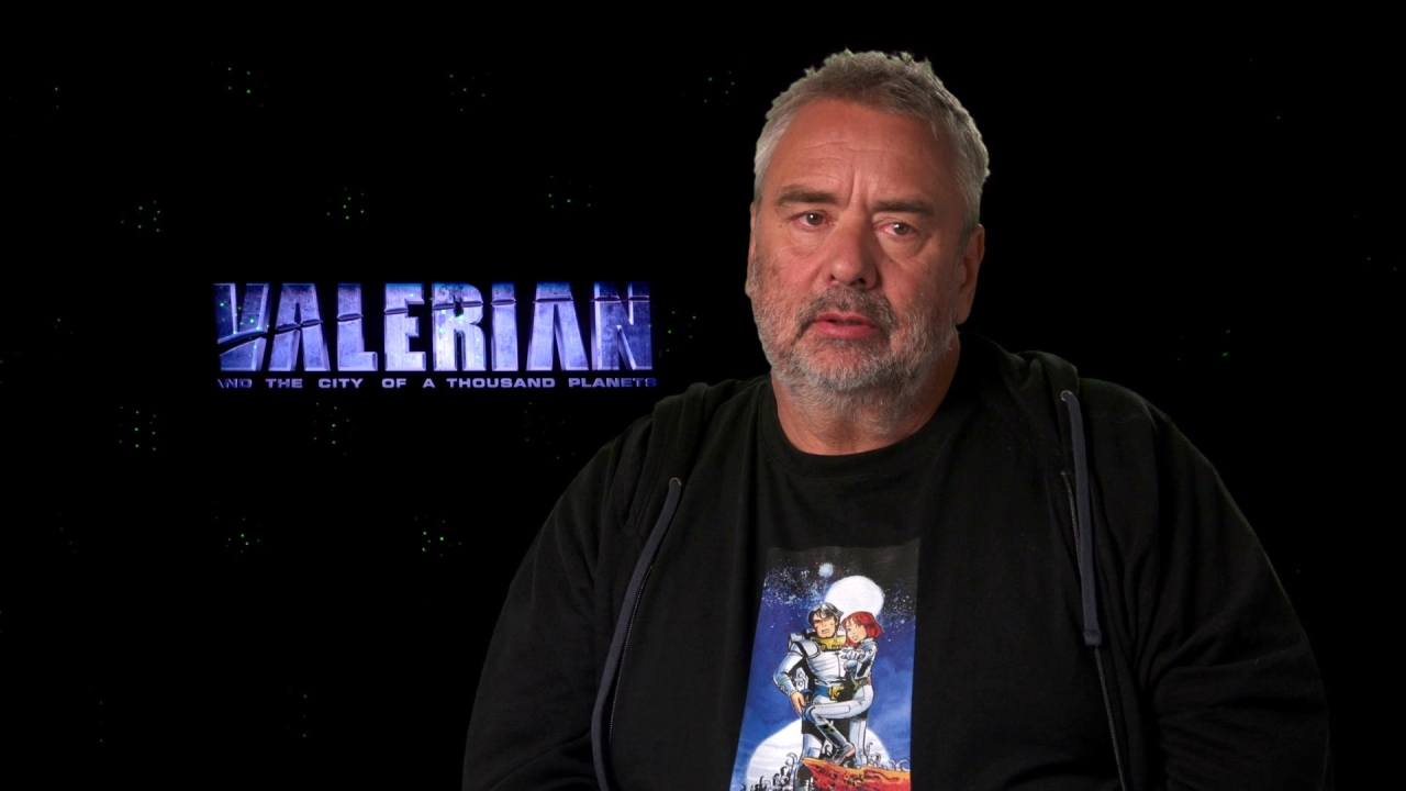 Valerian And The City Of A Thousand Planets: Luc Besson On The Comic Books