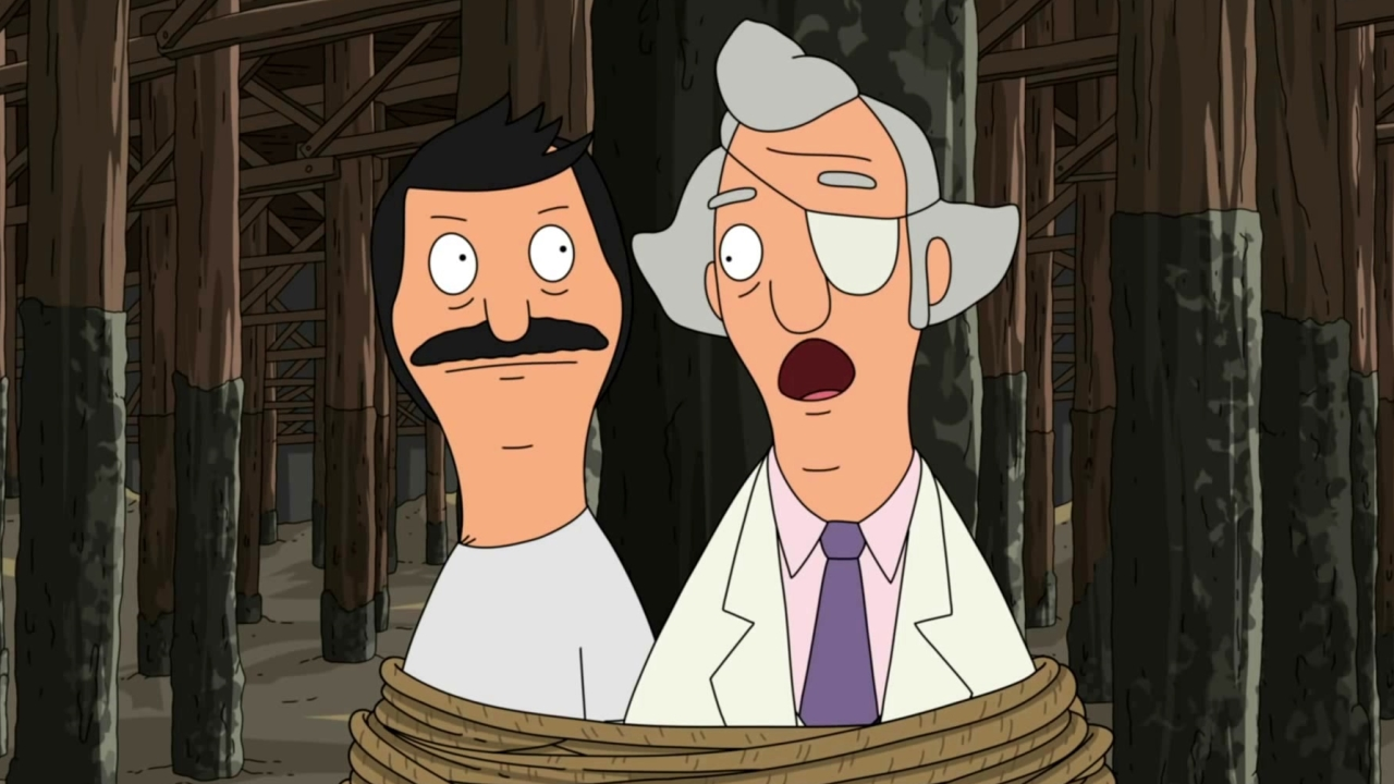 Bob's Burgers: Mr. Fischoeder Taunts Felix While Tied To The Pier