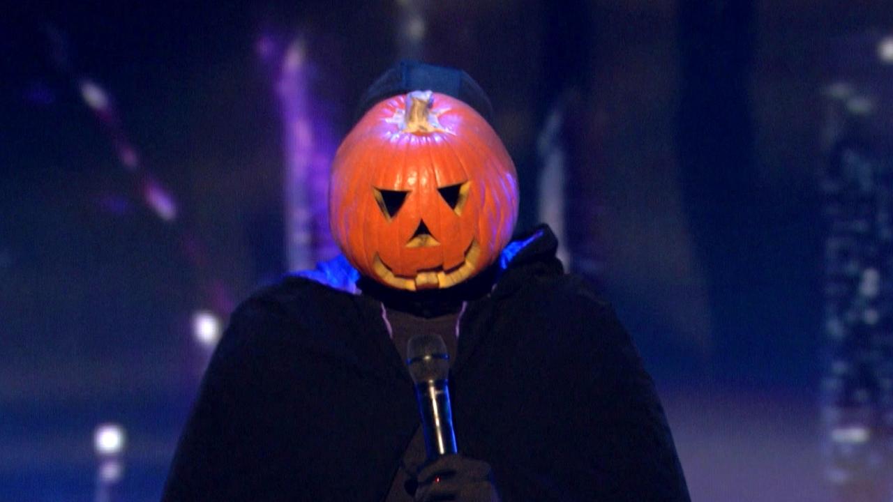 America's Got Talent: Dancing Pumpkin Man