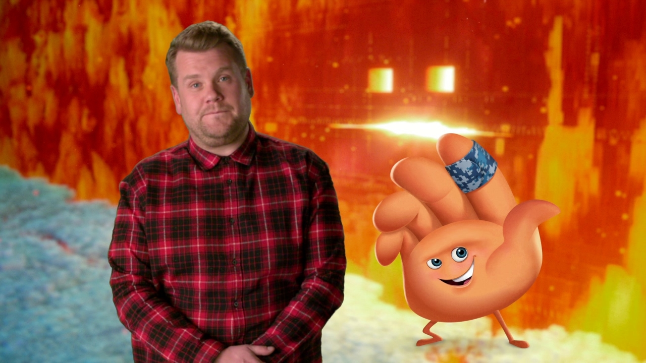 The Emoji Movie: James Corden On Being A Part Of The Movie