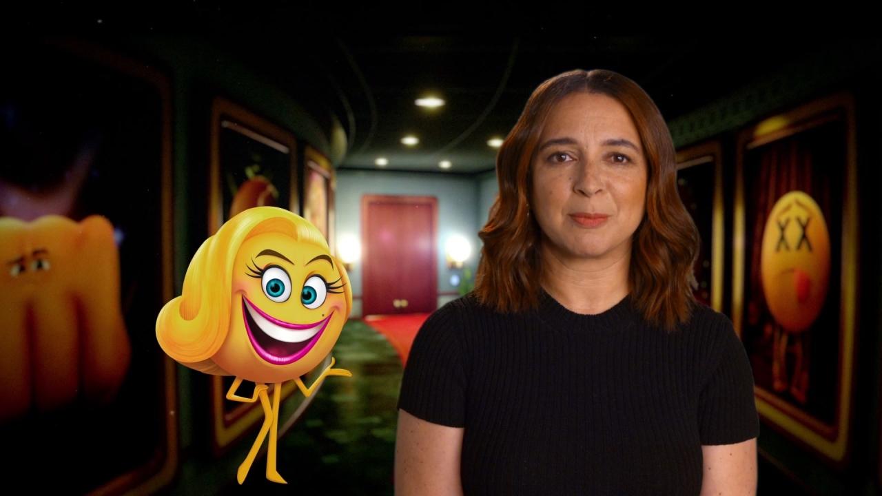 The Emoji Movie: Maya Rudolph On Her Character