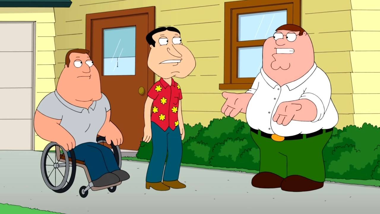 Family Guy: The Elephant In The Room