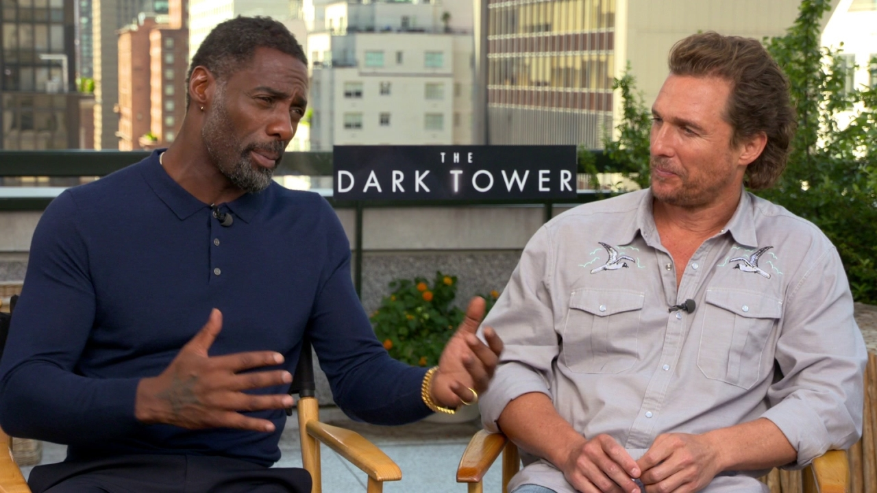The Dark Tower: Idris Elba & Matthew McConaughey On Meeting The Expectations