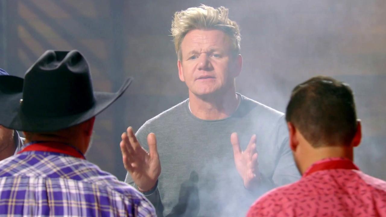 Masterchef: Adam's Team Faces Trouble In The Pork Chop Challenge