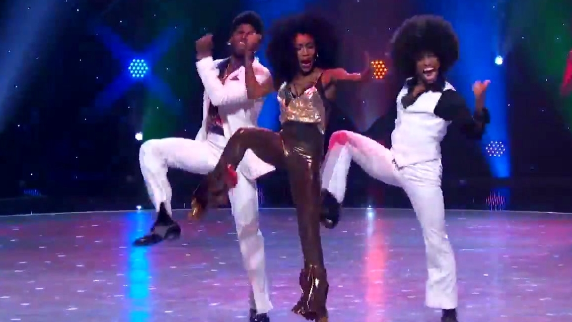 So You Think You Can Dance: Top 10 & All-Stars Groovy Disco Performance