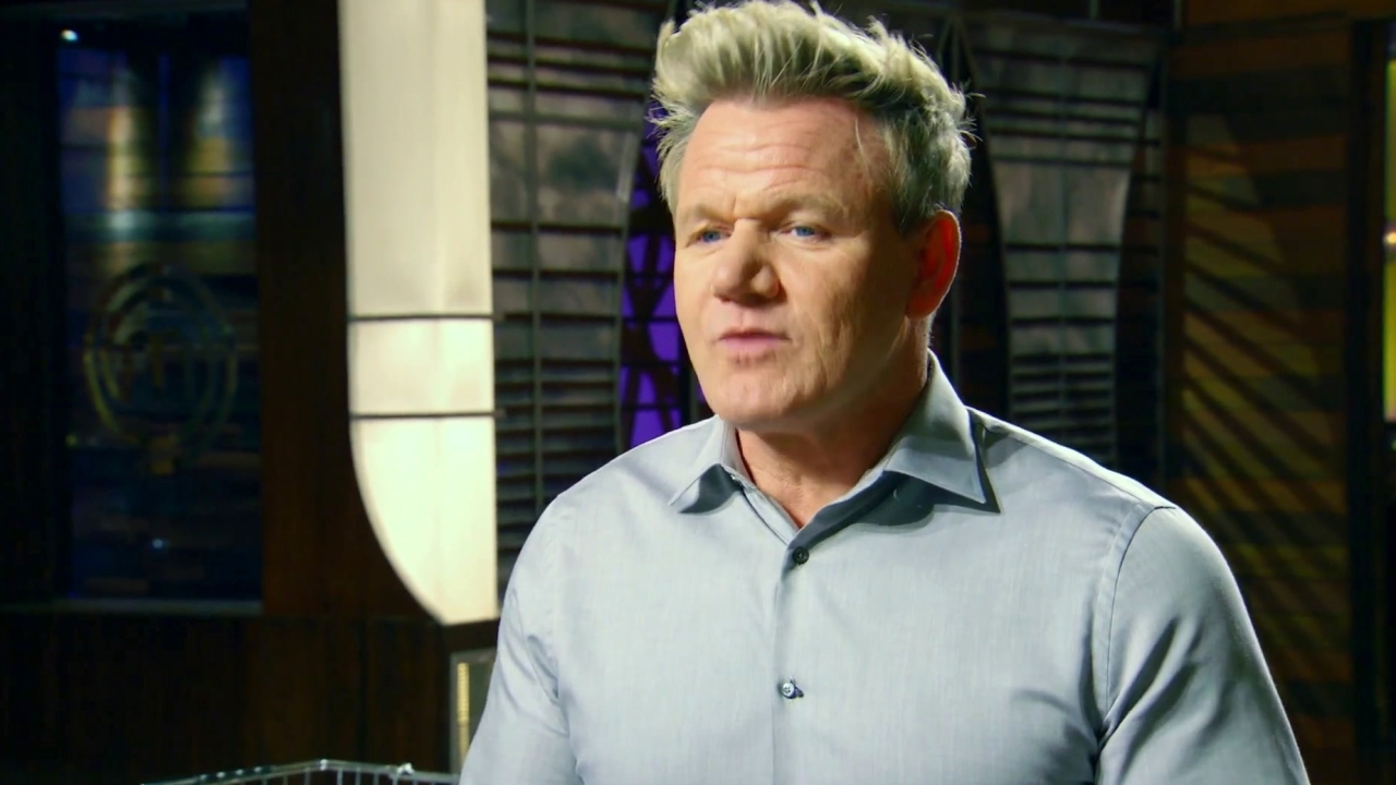 Masterchef: Dino Checks In And Compliments Gordon Ramsay On His Gym Body