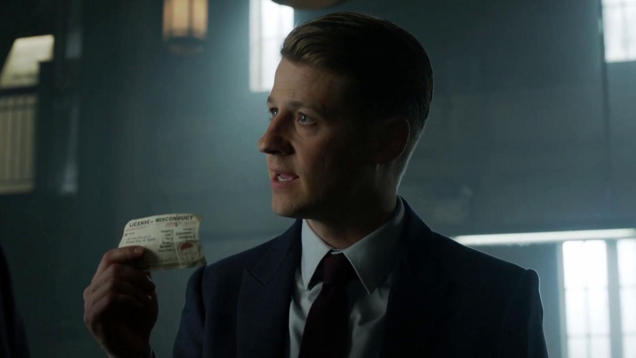 Gotham: Jim Wants Penguin Gone