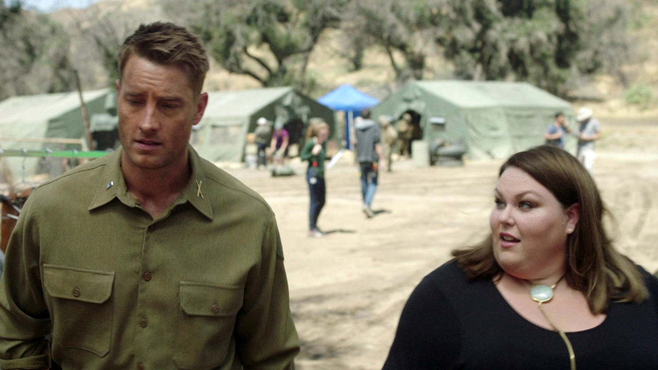 This Is Us: Kevin And Kate Meet Sylvester Stallone On Kevin's Movie Set