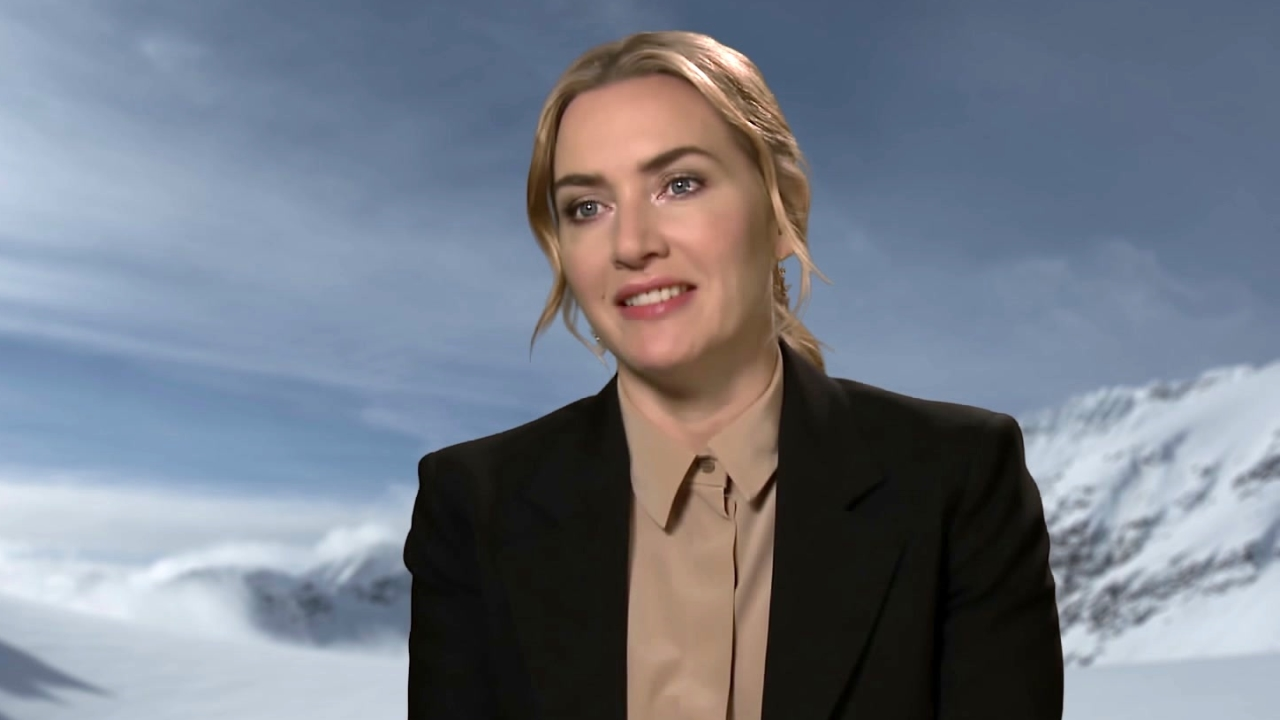 The Mountain Between Us: Kate Winslet On Shooting On the Mountain (International)