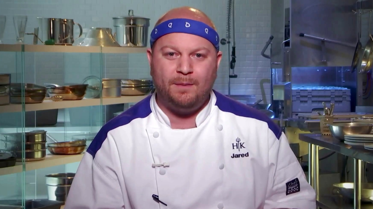 Hell's Kitchen: Jared Compares Shucking Oysters To Caressing Women