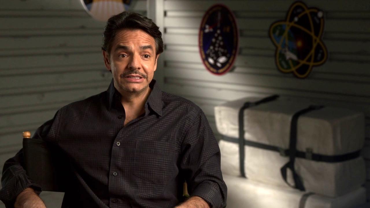 Geostorm: Eugenio Derbez On His Character 'Hernandez' Being A Mexican Astronaut