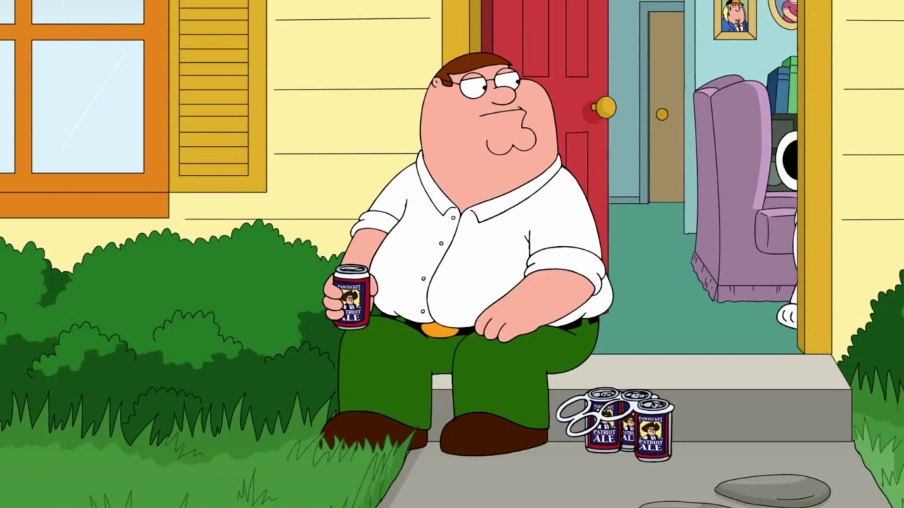 Family Guy: Peter Mows The Lawn