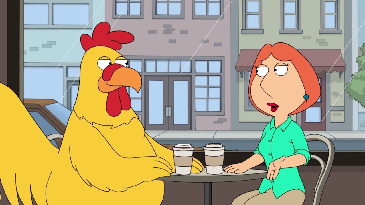 Family Guy: Lois & Ernie Have Coffee Together