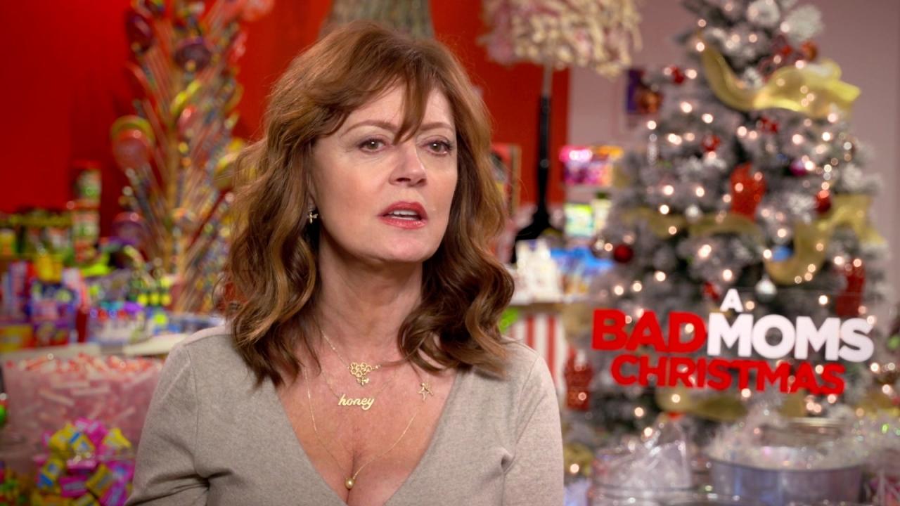 A Bad Moms Christmas: Susan Sarandon On What The Film Says About Motherhood